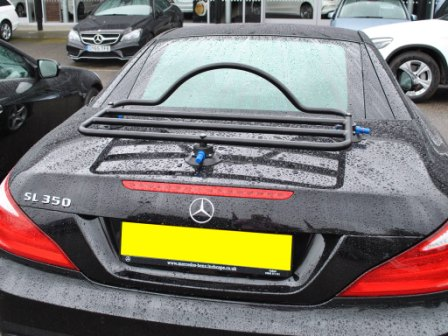 Mercedes benz sl luggage boot racks all models since 1956 for Mercedes benz suitcase