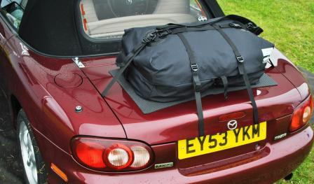 Boot Bag Car Luggage Rack Fitted To Mazda Mx5
